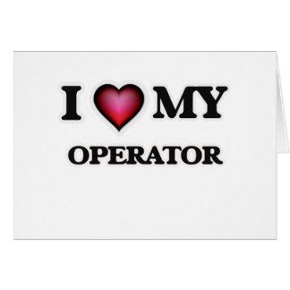 I love my Operator Card