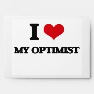 I Love My Optimist Envelope
