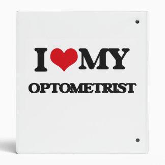 I love my Optometrist Vinyl Binders