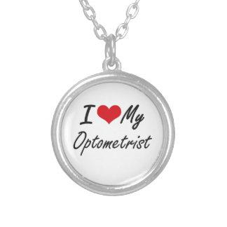 I love my Optometrist Round Pendant Necklace
