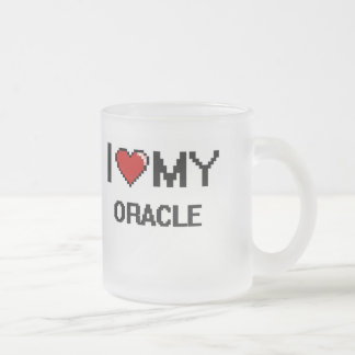 I love my Oracle Frosted Glass Mug