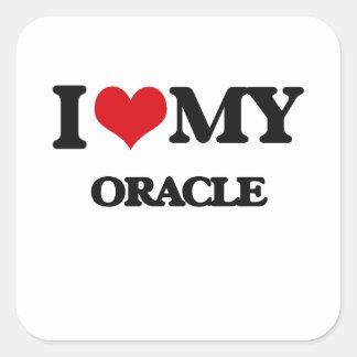 I love my Oracle Sticker
