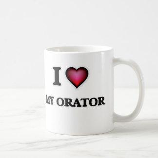 I Love My Orator Coffee Mug