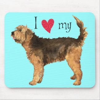 I Love my Otterhound Mouse Pad