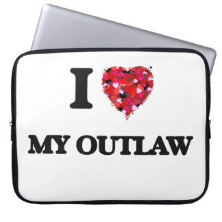 I Love My Outlaw Laptop Sleeves