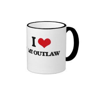 I Love My Outlaw Ringer Mug