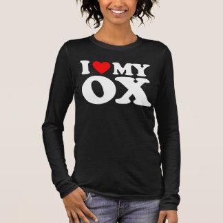 I LOVE MY OX LONG SLEEVE T-Shirt