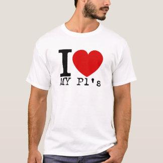 I Love My P1's (Black) T-Shirt