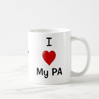 I Love My PA and My PA Loves Me! Coffee Mug