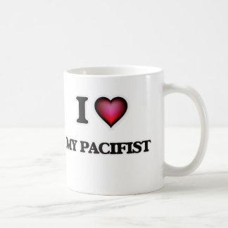 I Love My Pacifist Coffee Mug