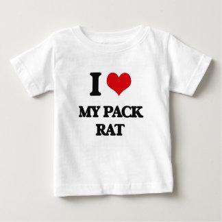 I Love My Pack Rat Tee Shirts