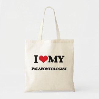 I love my Palaeontologist Budget Tote Bag
