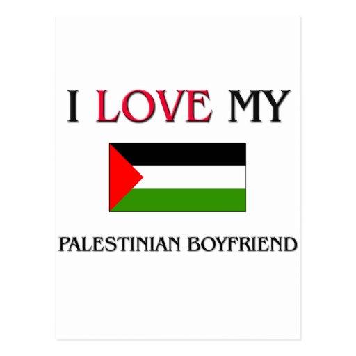 I Love My Palestinian Boyfriend Postcard