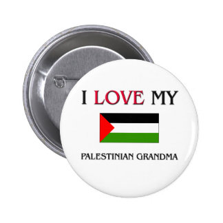 I Love My Palestinian Grandma Buttons