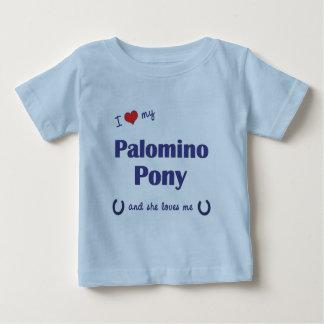 I Love My Palomino Pony (Female Pony) Tee Shirt