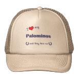 I Love My Palominos (Multiple Horses) Mesh Hat