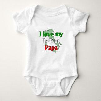 I Love My Papa Baby Bodysuit
