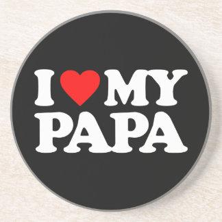 I LOVE MY PAPA COASTERS