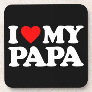 I LOVE MY PAPA COASTER