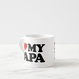 I LOVE MY PAPA ESPRESSO CUP