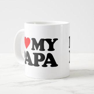 I LOVE MY PAPA GIANT COFFEE MUG