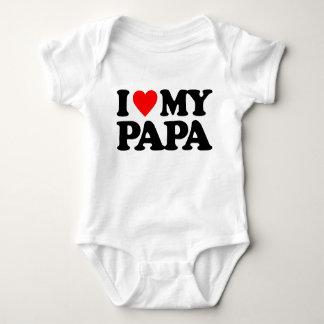 I LOVE MY PAPA TSHIRT