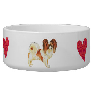 I Love my Papillon Bowl