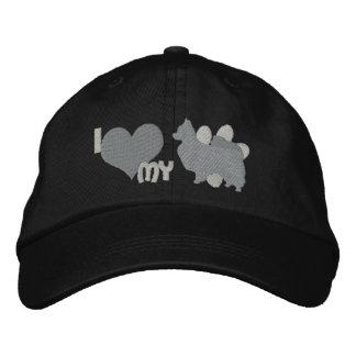 I Love my Papillon Monochrome Cap