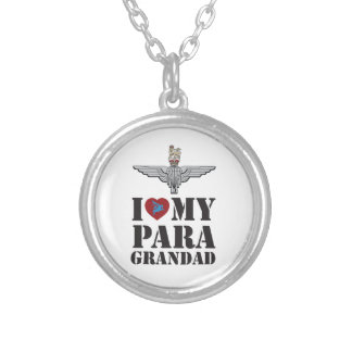 I LOVE MY PARA GRANDAD SILVER PLATED NECKLACE
