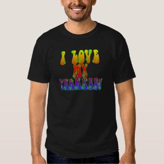 I Love My Parakeet Shirt