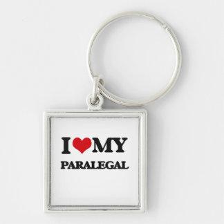I love my Paralegal Key Chains