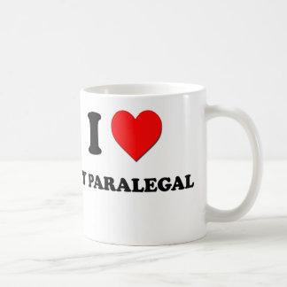I love My Paralegal Classic White Coffee Mug