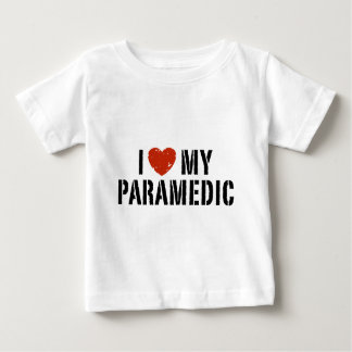I Love My Paramedic Baby T-Shirt