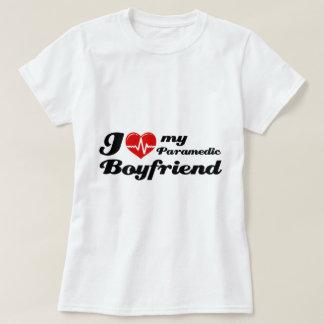 I love my paramedic boyfriend t-shirt