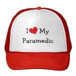 I Love My Paramedic Mesh Hats