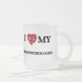 I love my Parapsychologist 10 Oz Frosted Glass Coffee Mug
