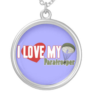 I Love My Paratrooper Custom Jewelry