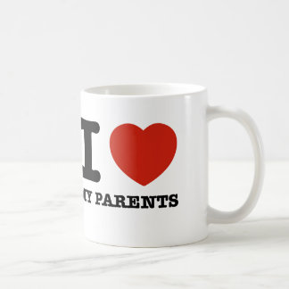 I love my parent coffee mug