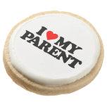I LOVE MY PARENT ROUND PREMIUM SHORTBREAD COOKIE