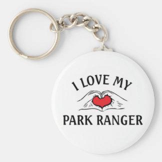 I love my Park Ranger Keychains