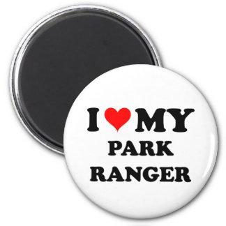 I Love My Park Ranger Refrigerator Magnets