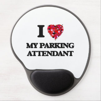 I Love My Parking Attendant Gel Mouse Pad