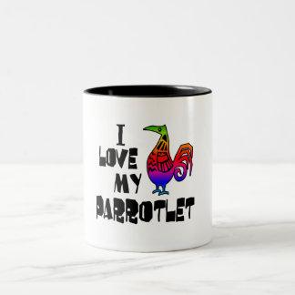I Love My Parrotlet Coffee Mug