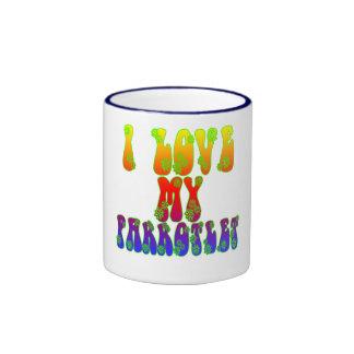 I Love My Parrotlet Mug