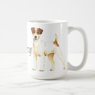 I Love my Parson Russell Terrier Coffee Mug