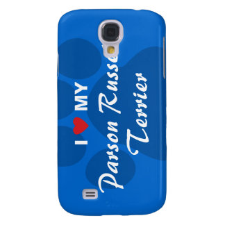 I Love My Parson Russell Terrier Samsung Galaxy S4 Cover