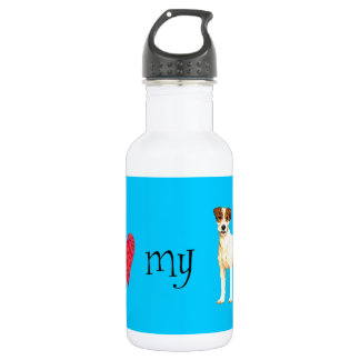 I Love my Parson Russell Terrier Stainless Steel Water Bottle