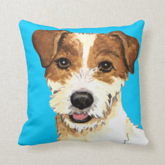 I Love my Parson Russell Terrier Throw Pillow