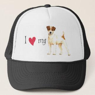 I Love my Parson Russell Terrier Trucker Hat