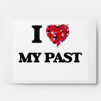 I love My Past Envelope